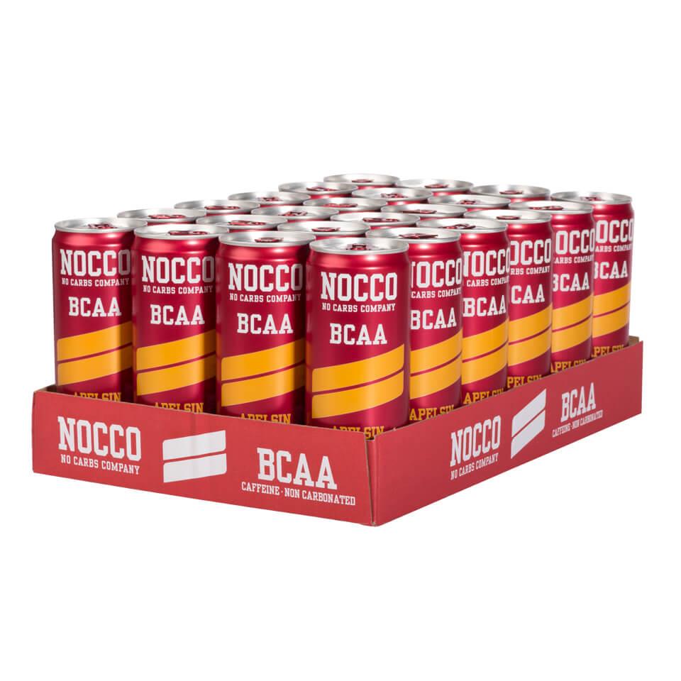 NOCCO BCAA Flak 24-pack Apelsin