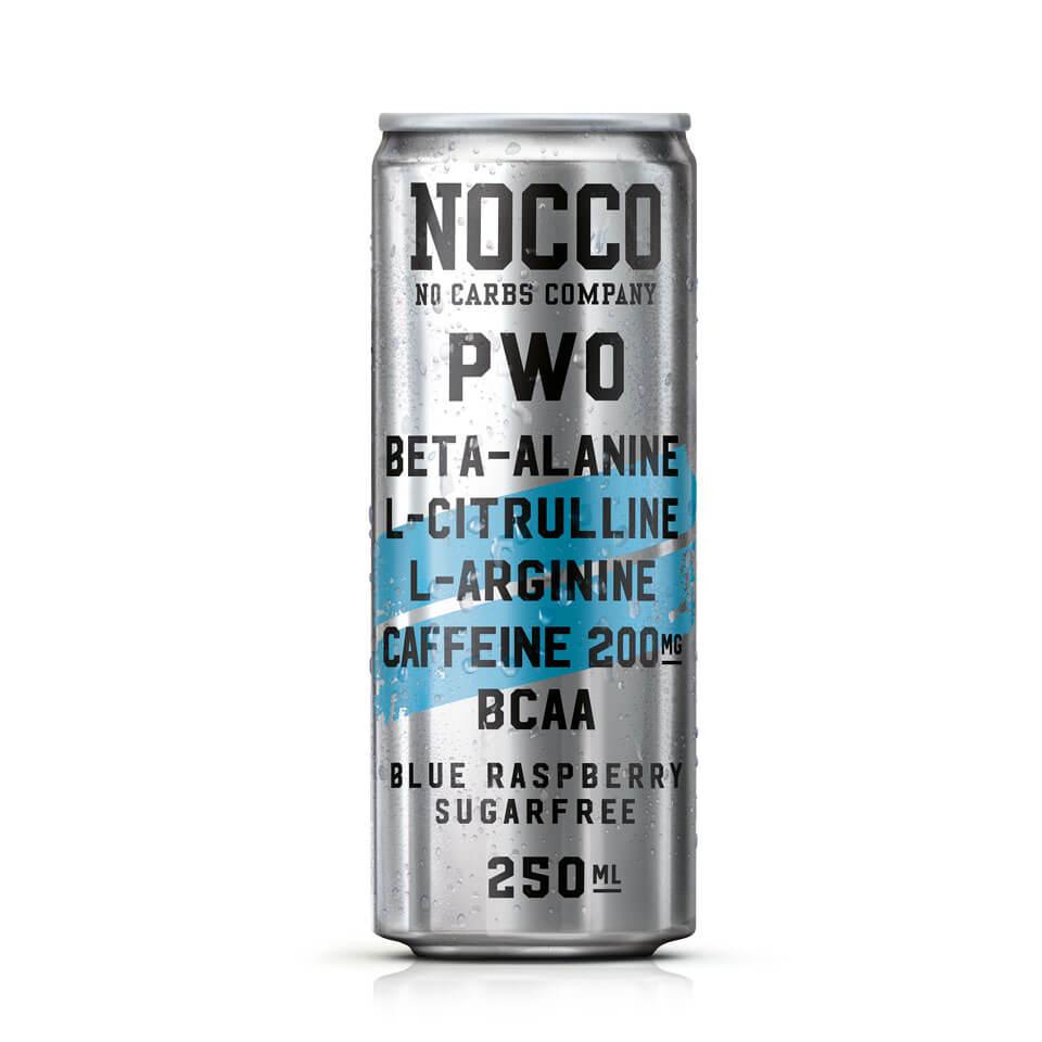 NOCCO PWO 250 ml Blue Raspberry - NOCCO