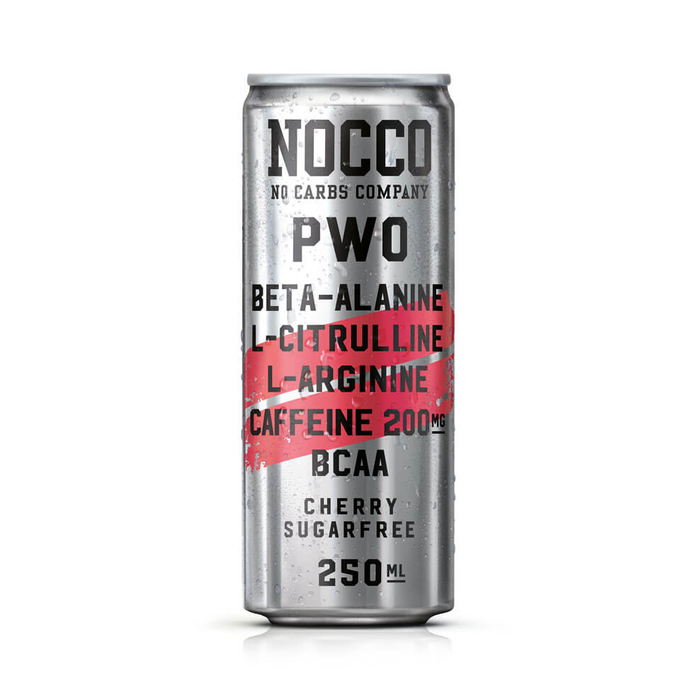 NOCCO PWO 250 ml Cherry - NOCCO