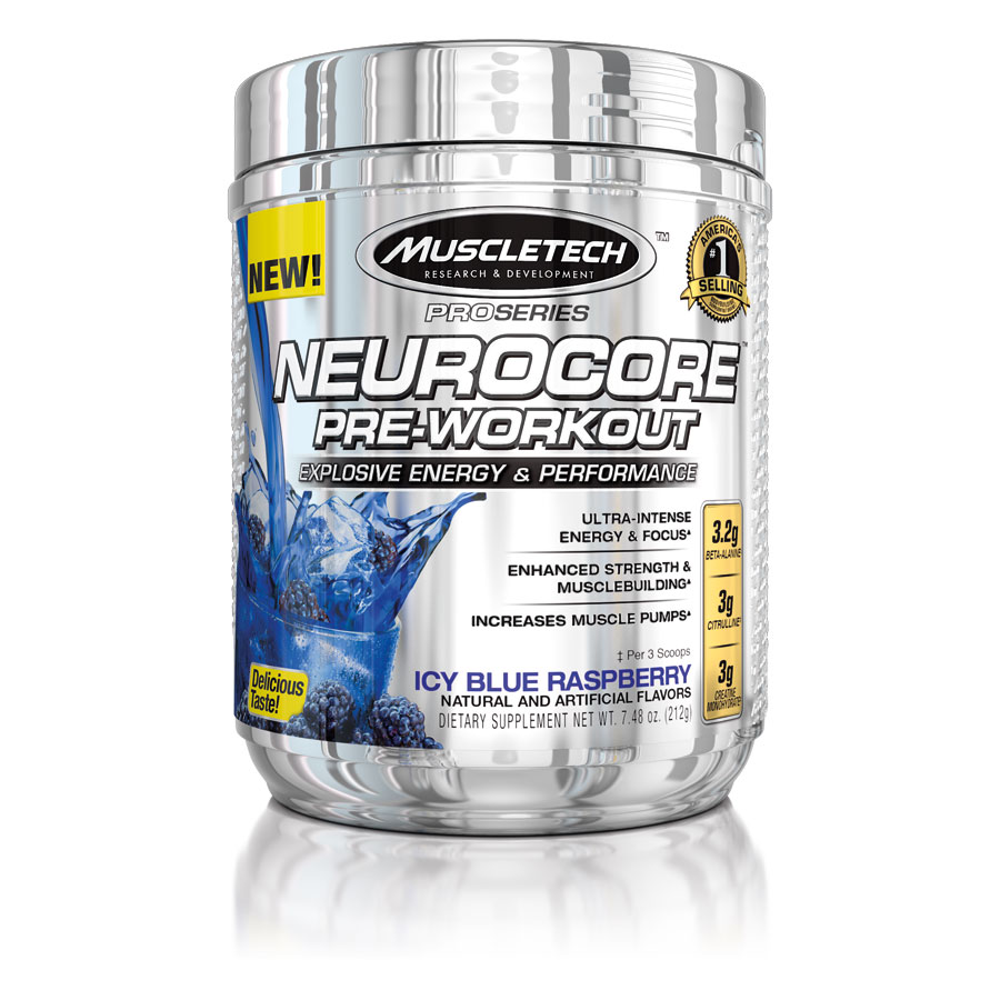 MuscleTech Pro Series Neurocore Blue Raspberry - MuscleTech