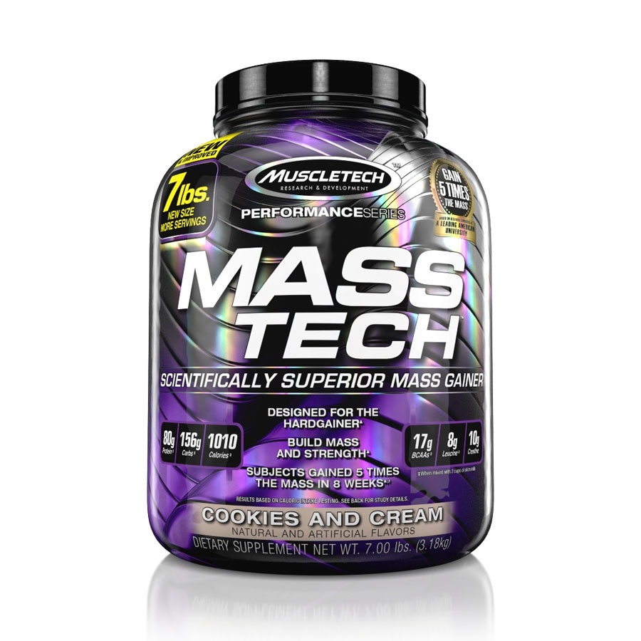 MuscleTech Performance Series - Mass-Tech Cookies and Cream - MuscleTech