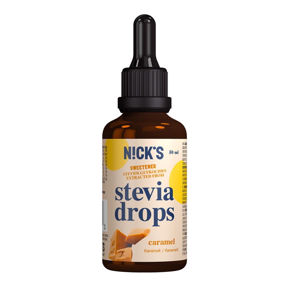 Nick's Stevia Drops 50 ml Caramel - Nick's