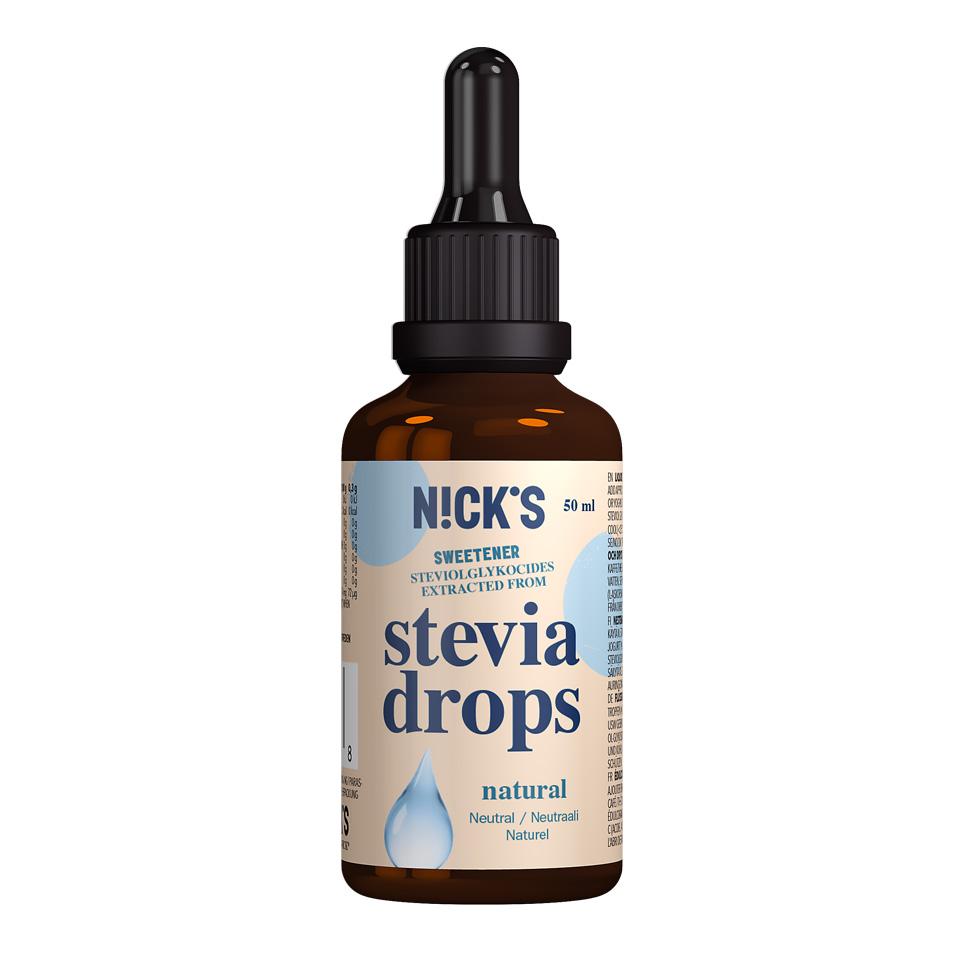 Nick's Stevia Drops 50 ml Natural - Nick's