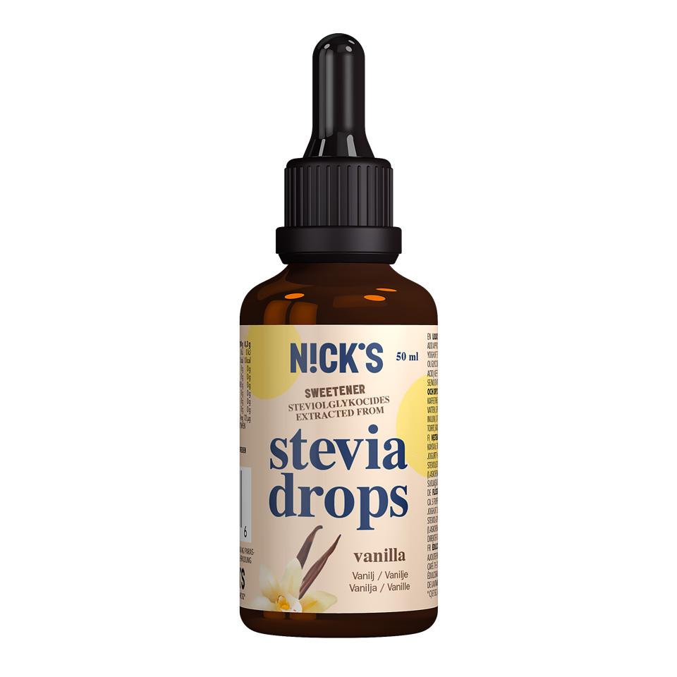 Nick's Stevia Drops 50 ml Vanilla - Nick's