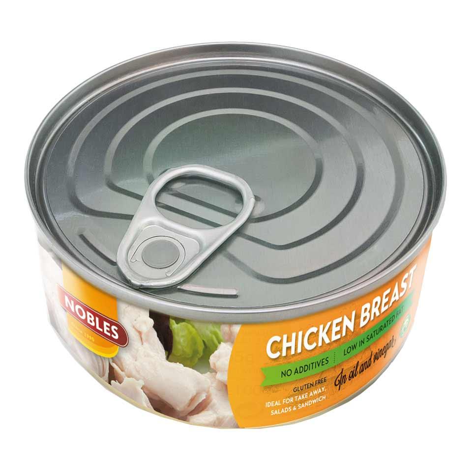 Nobles Chicken Breast 155 gram Sunflower/Vinegar - Nobles