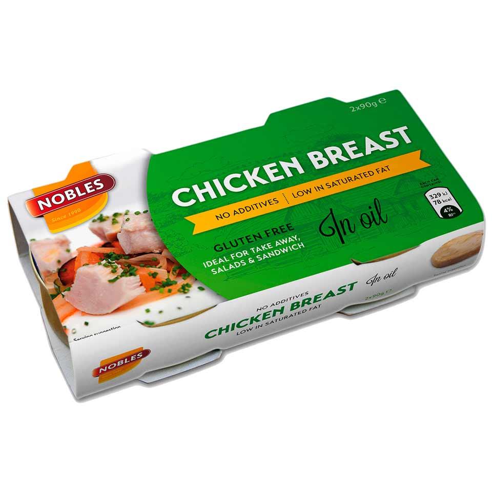Nobles Chicken Breast Sunflower 180 gram - Nobles