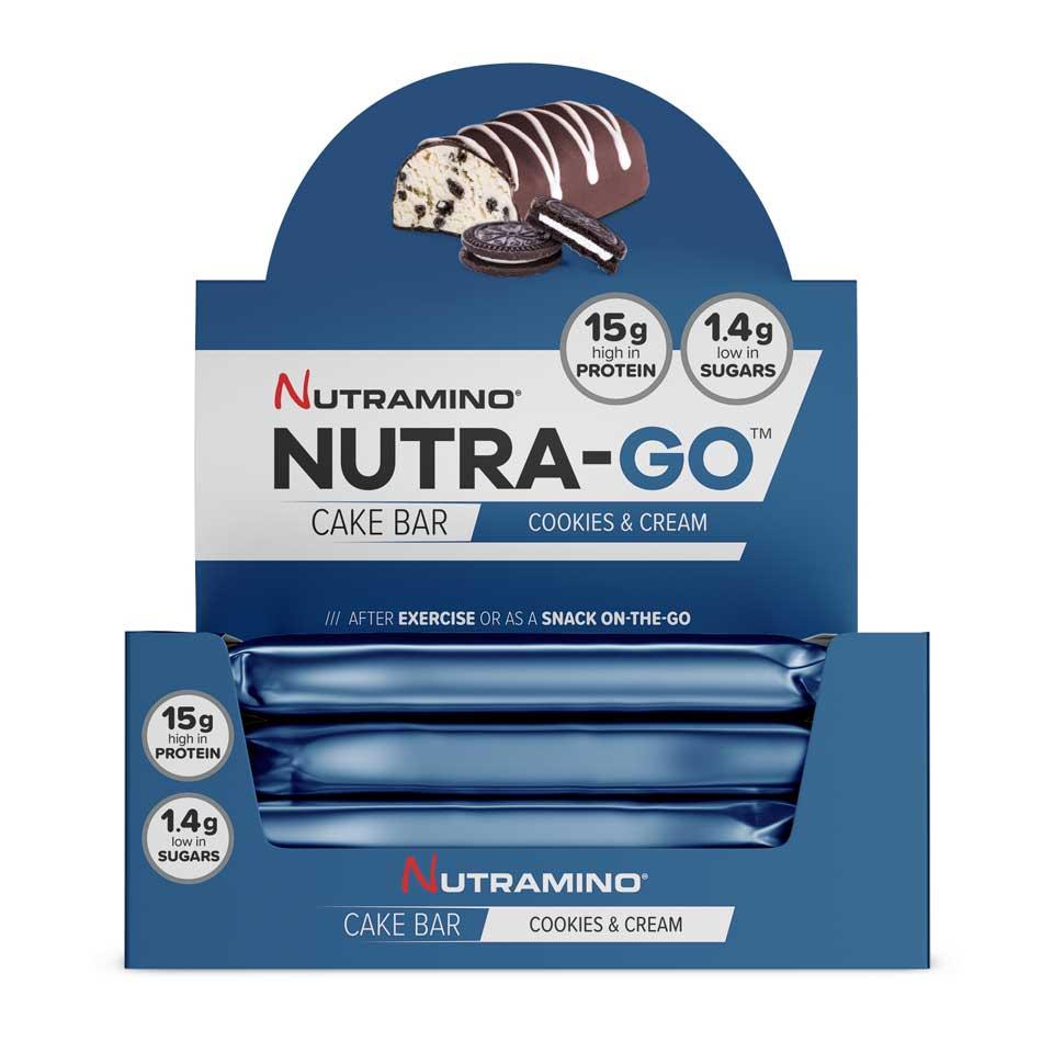 Nutra-GO Cake Bar - 12 st hel låda