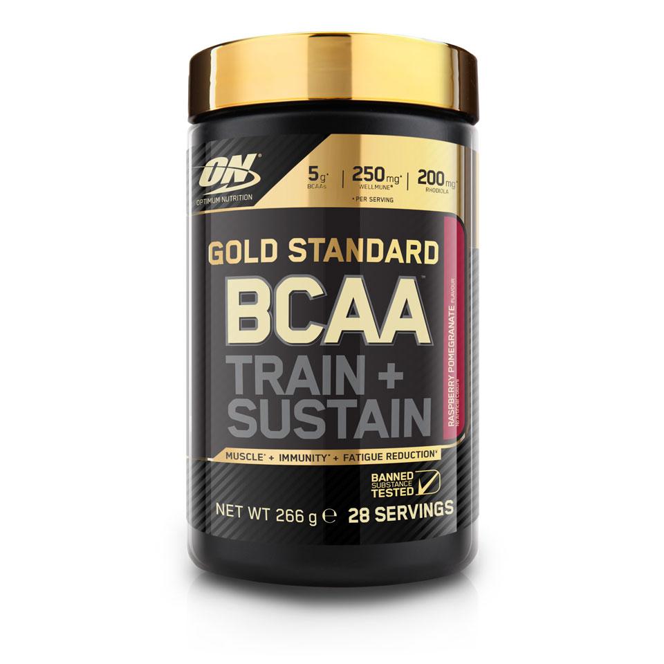 Optimum Nutrition Gold Standard BCAA 266 gram Raspberry Pomegranate - Optimum Nutrition