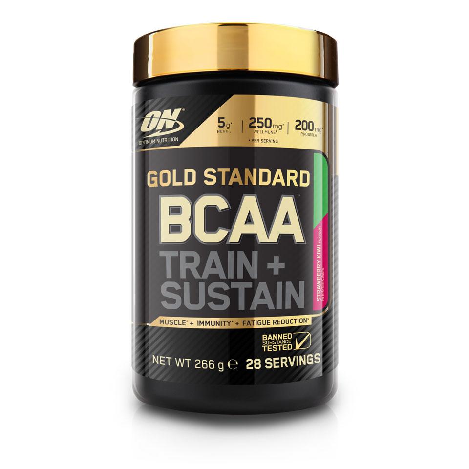 Optimum Nutrition Gold Standard BCAA 266 gram Strawberry Kiwi - Optimum Nutrition