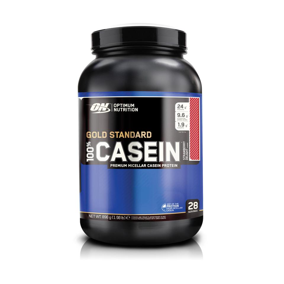Optimum Nutrition Gold Standard 100% Casein 0,908kg Strawberry - Optimum Nutrition