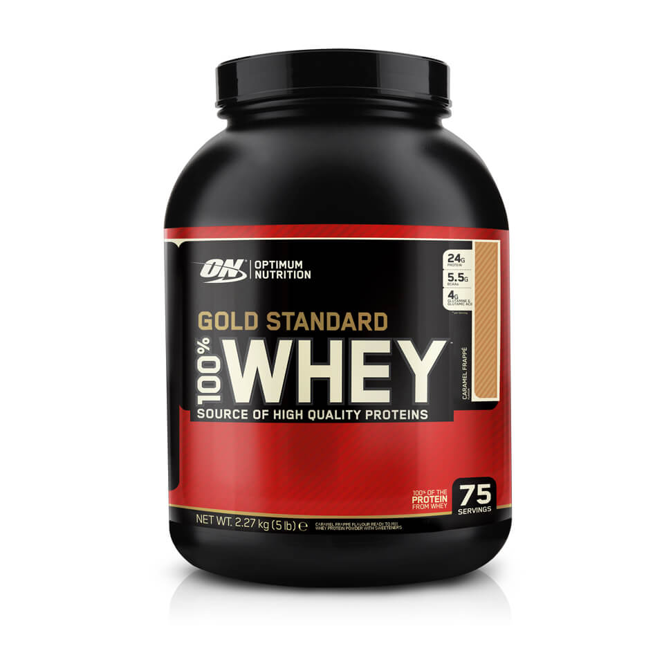 Optimum Nutrition Gold Standard 100% Whey Vanilla Ice Cream 2,3kg - Optimum Nutrition