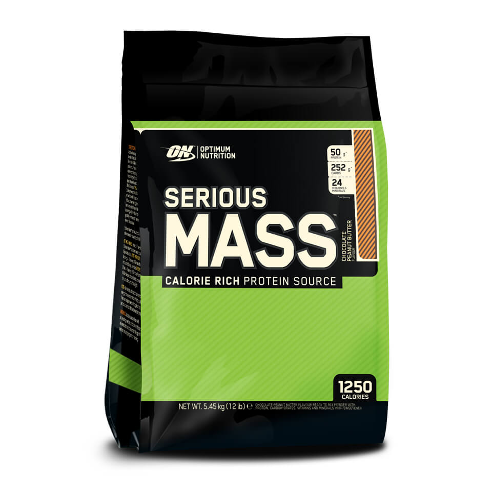 Optimum Nutrition Serious Mass 5,45 kg Chocolate Peanut Butter - Optimum Nutrition