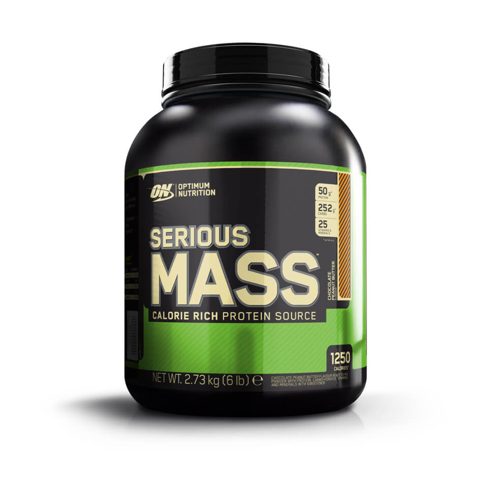 Optimum Nutrition Serious Mass 2,7 kg Chocolate Peanut Butter - Optimum Nutrition