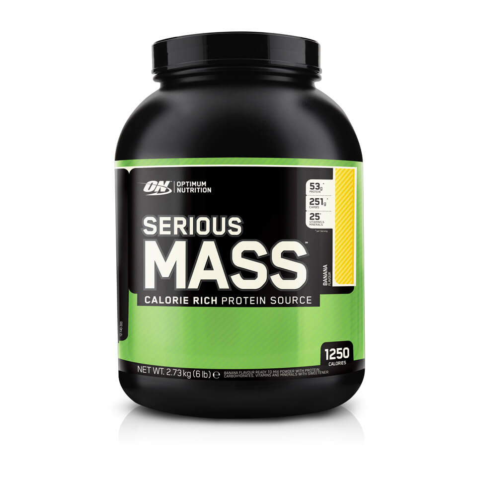 Optimum Nutrition Serious Mass 2,7 kg Banana