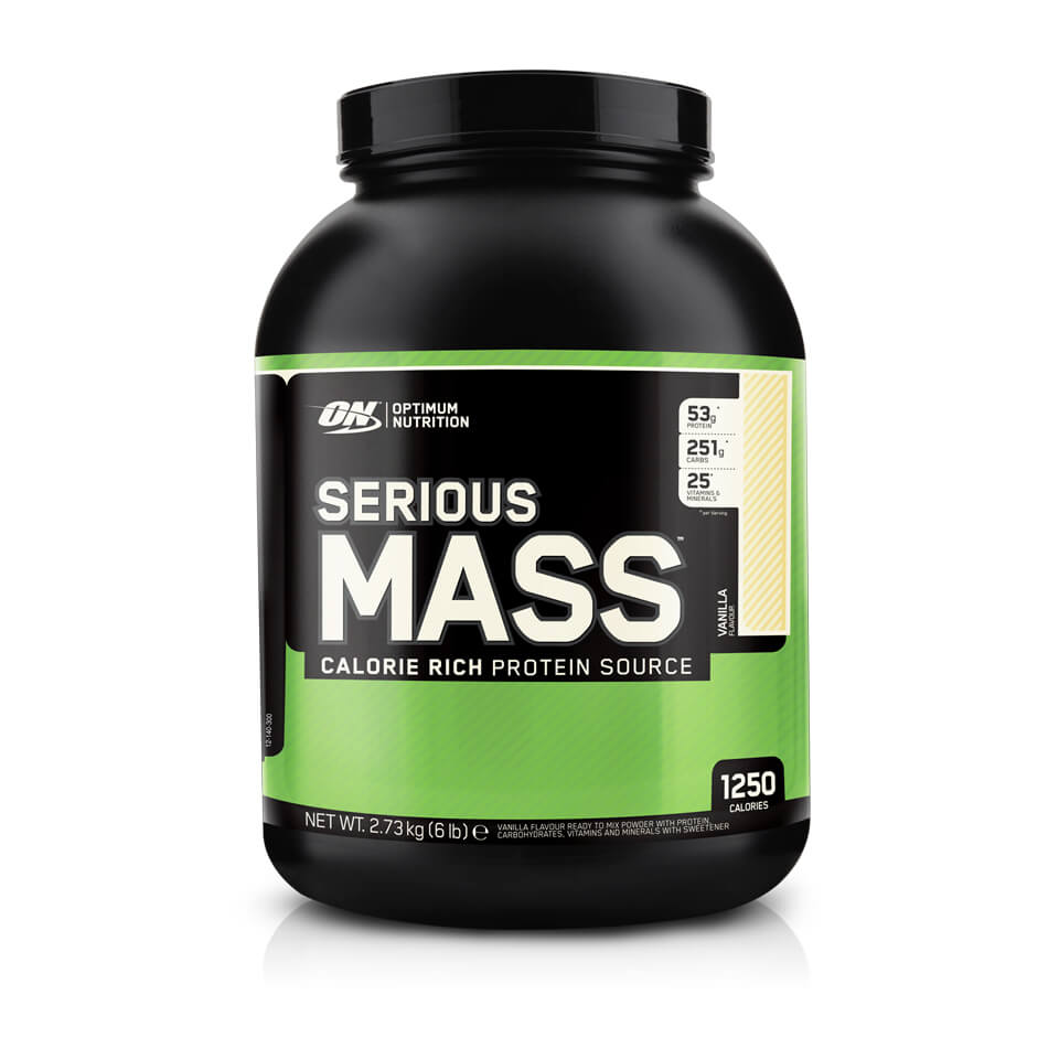 Optimum Nutrition Serious Mass 2,7 kg Vanilla