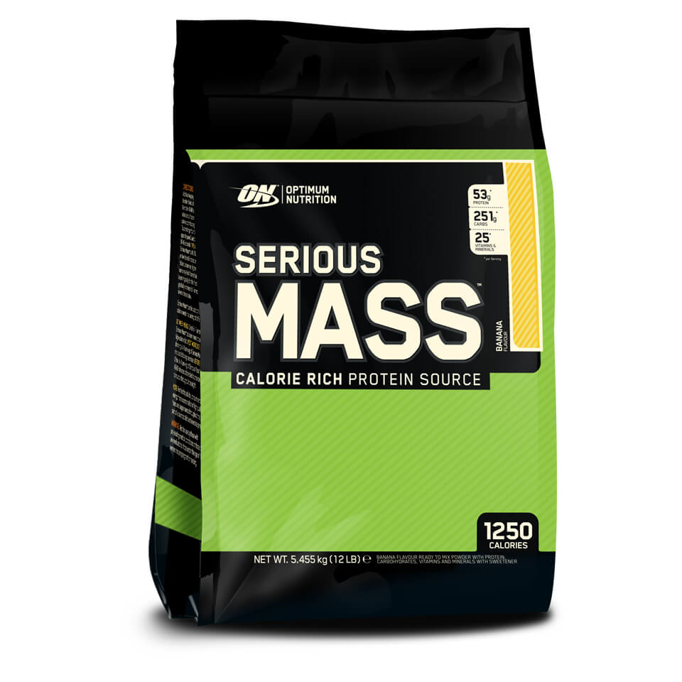 Optimum Nutrition Serious Mass 5,45 kg Banana
