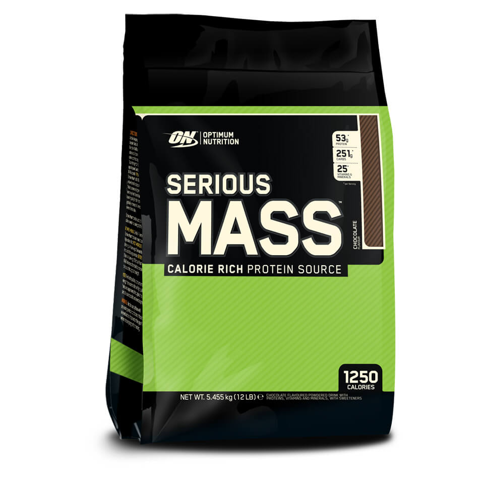 Optimum Nutrition Serious Mass Chocolate 5,45 kg - Optimum Nutrition