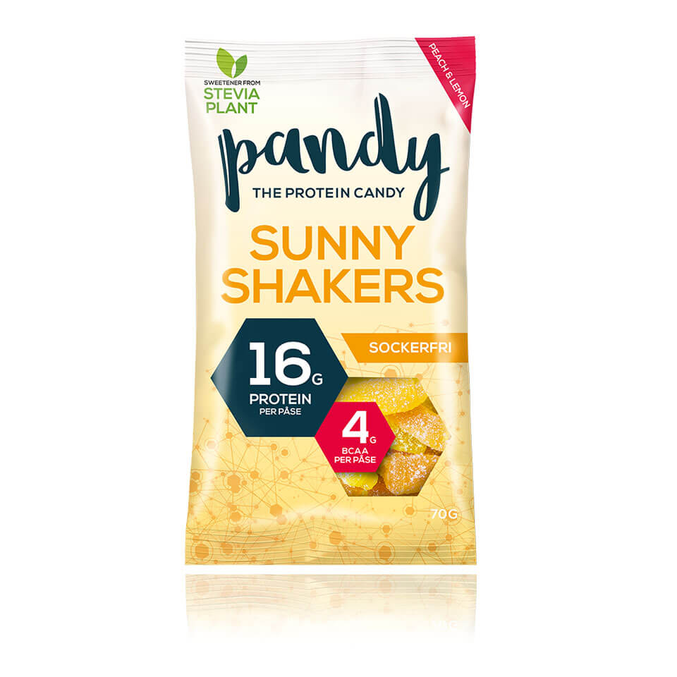 Pandy Protein Candy Sunny Shakers