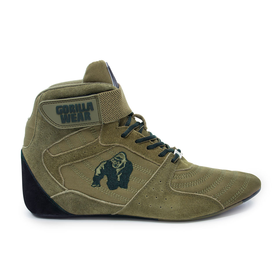Gorilla Wear Perry High Tops Pro Army Green lyftarsko