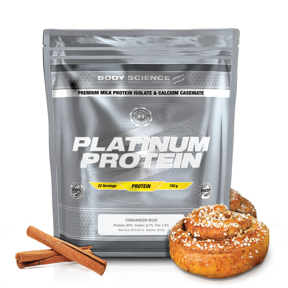 Body Science Platinum Protein Cinnamon Bun