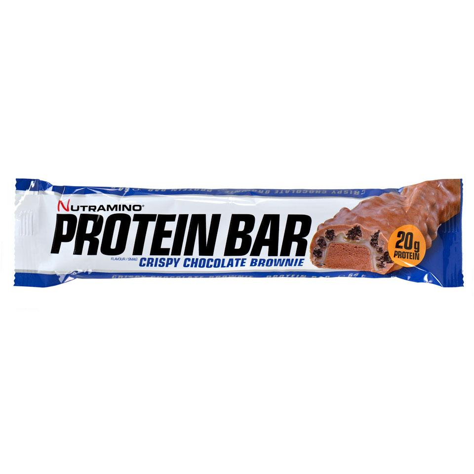 Nutramino Proteinbar Crispy 64 gram Chocolate Brownie - Nutramino