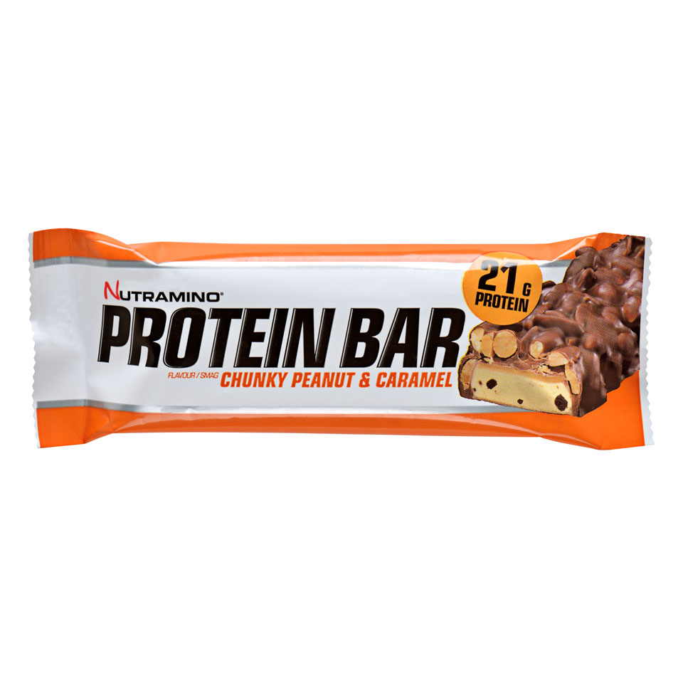 Nutramino Proteinbar Chunky 60 gram Peanut & Caramel - Nutramino