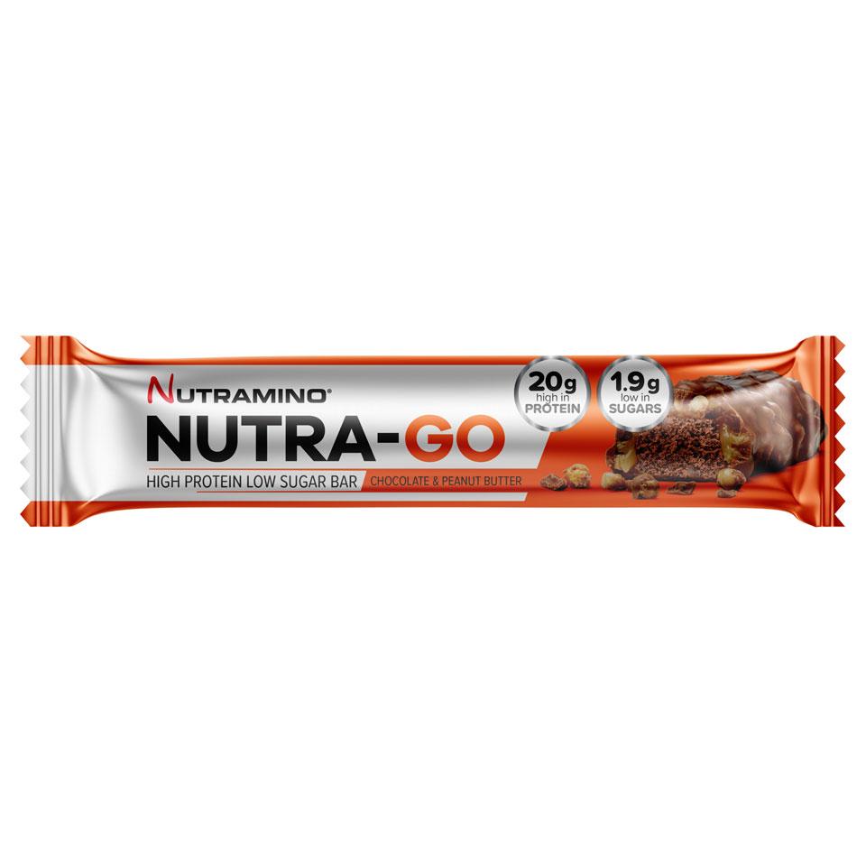 Nutramino Nutra-GO LS Proteinbar 64 gram Chocolate & Peanut Butter - Nutramino