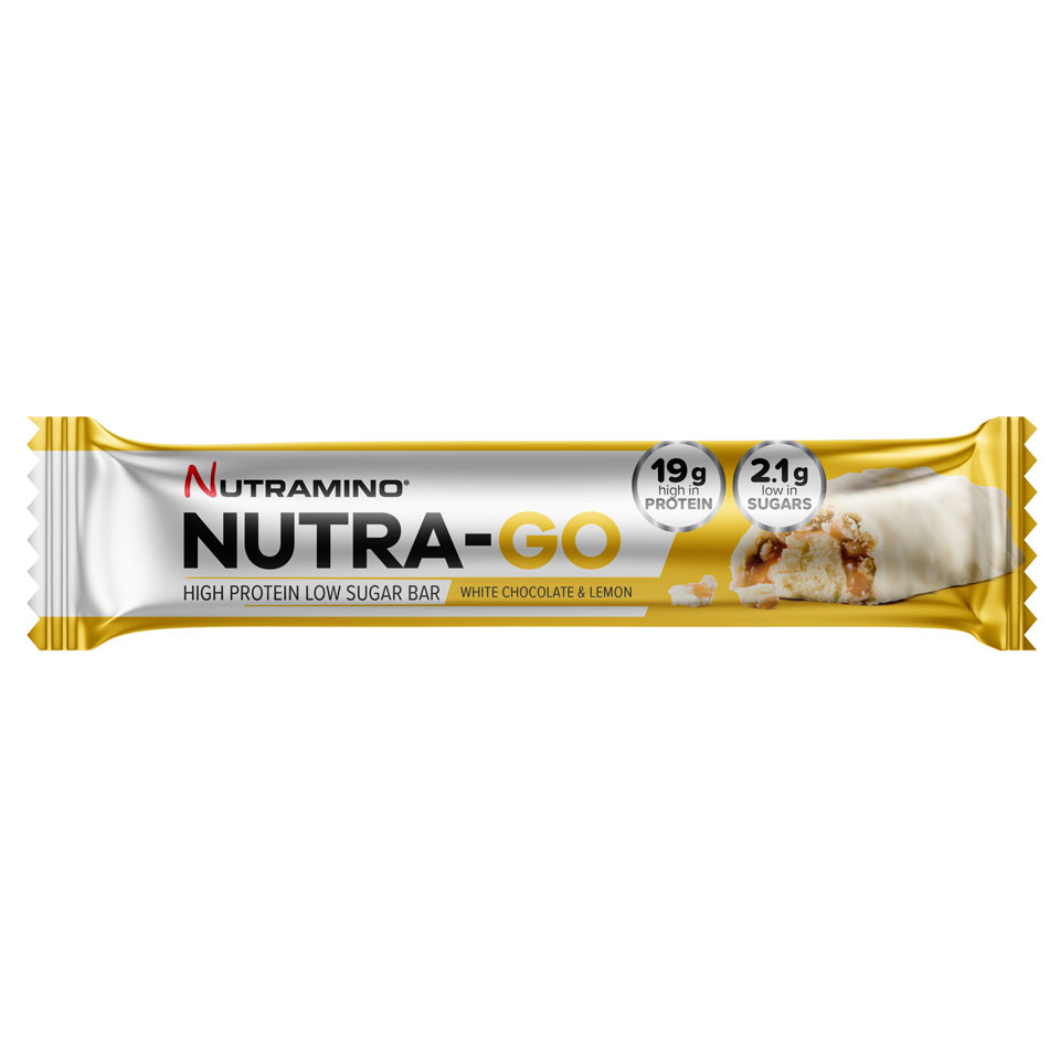 Nutramino Nutra-GO LS Proteinbar 64 gram White Chocolate & Lemon - Nutramino