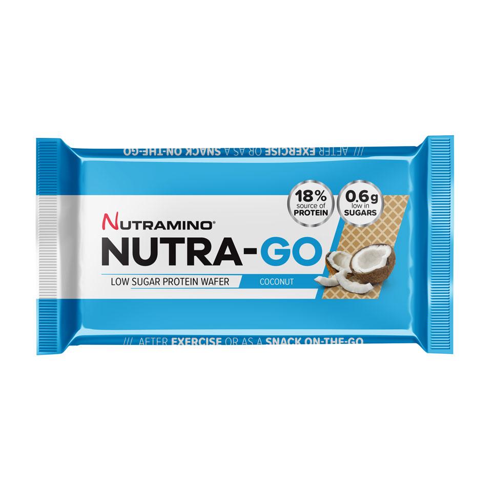 Nutramino Nutra-GO LS Protein Wafer 39 gram Coconut - Nutramino