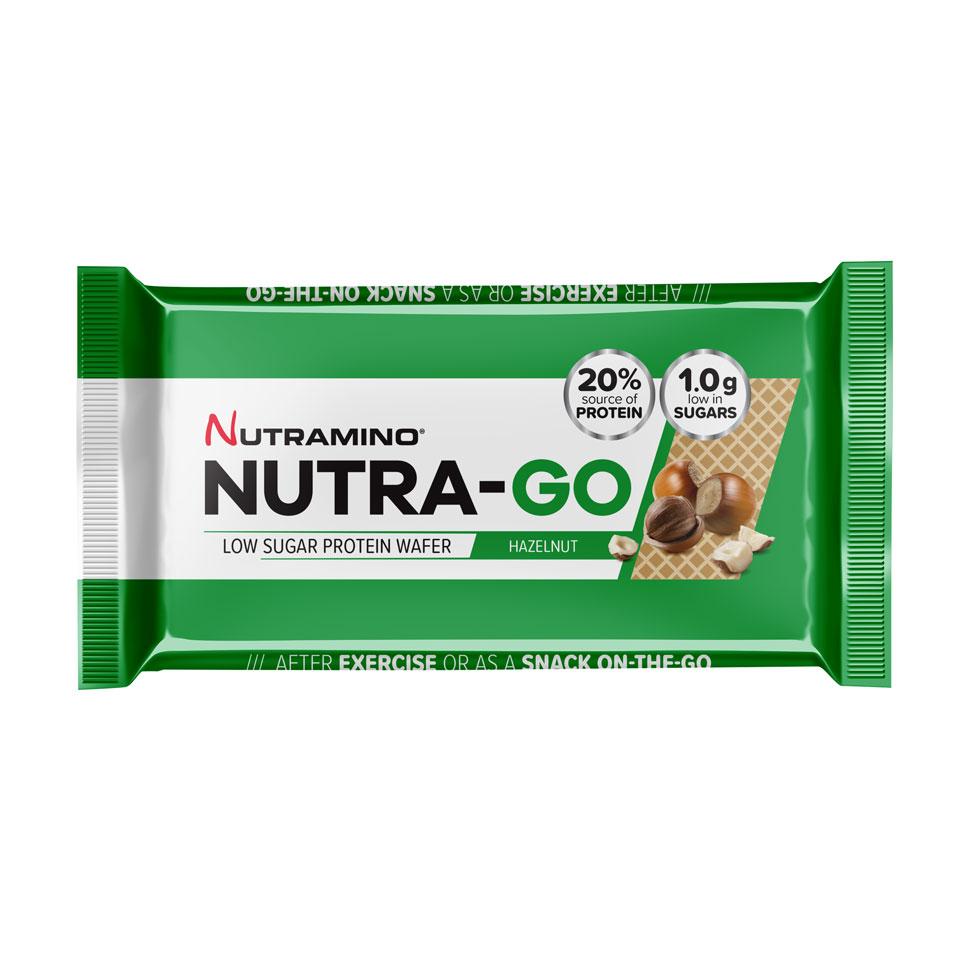 Nutramino Nutra-GO LS Protein Wafer 39 gram Hazelnut - Nutramino