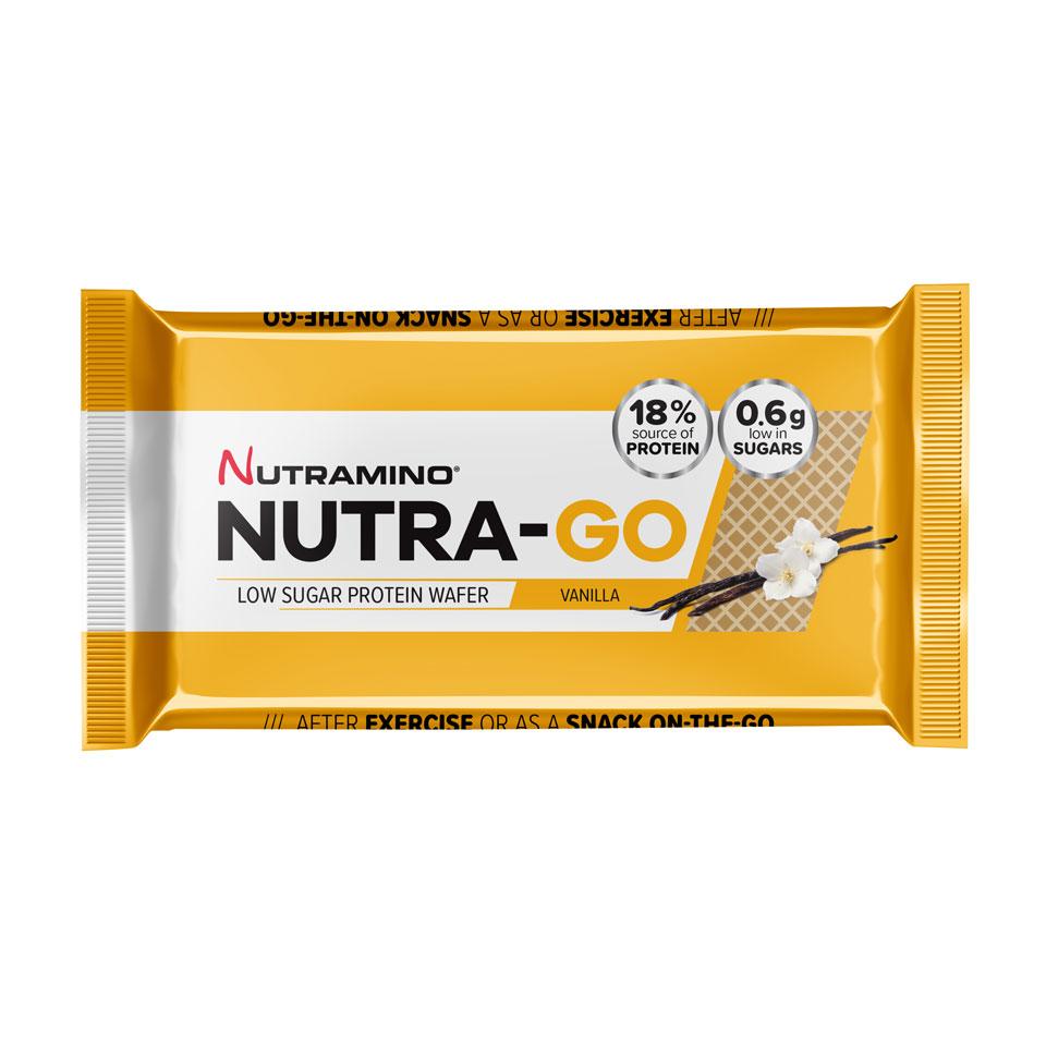 Nutramino Nutra-GO LS Protein Wafer 39 gram Vanilla - Nutramino