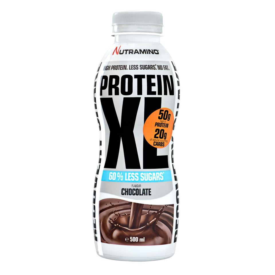 Nutramino Protein XL Shake - Less sugar 500 ml Chocolate - Nutramino