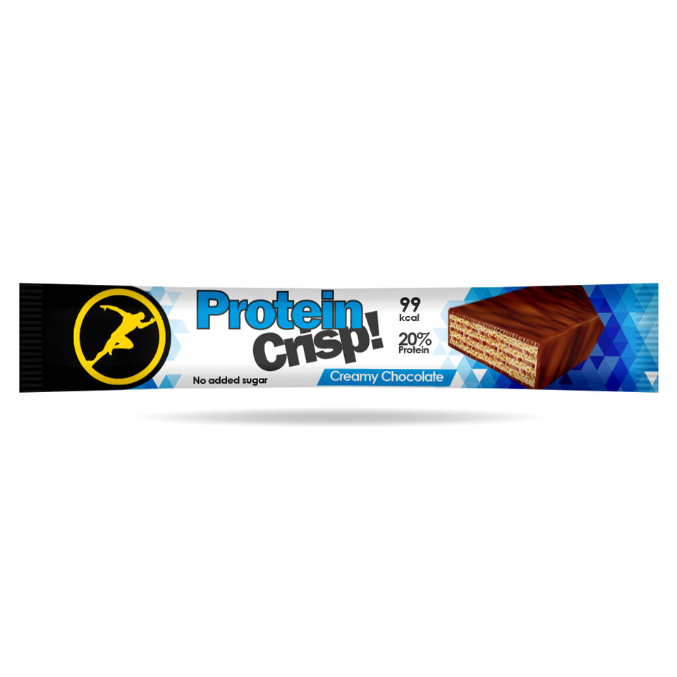 Golden Athlete Protein Crisp 20 gram Creamy Chocolate - Golden Athlete