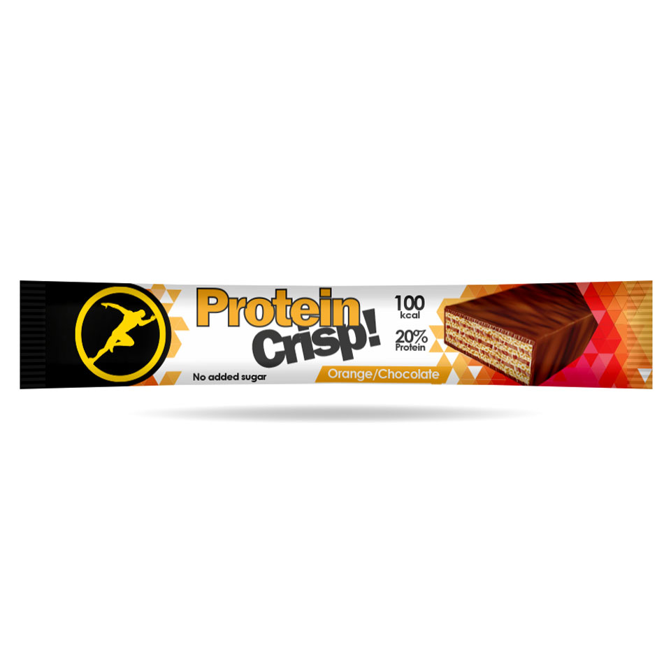 Golden Athlete Protein Crisp 20 gram Orange Chocolate - Golden Athlete