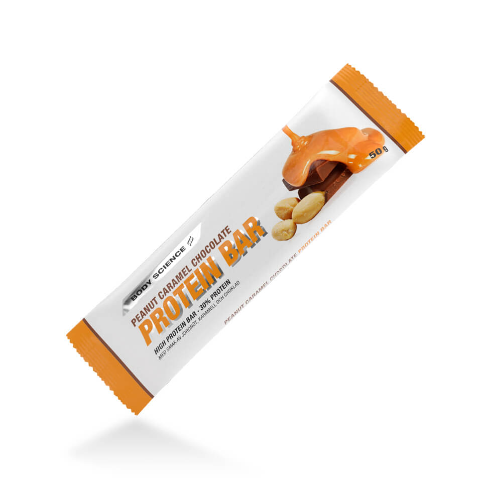 Body Science Protein Bar Peanut Caramel Chocolate