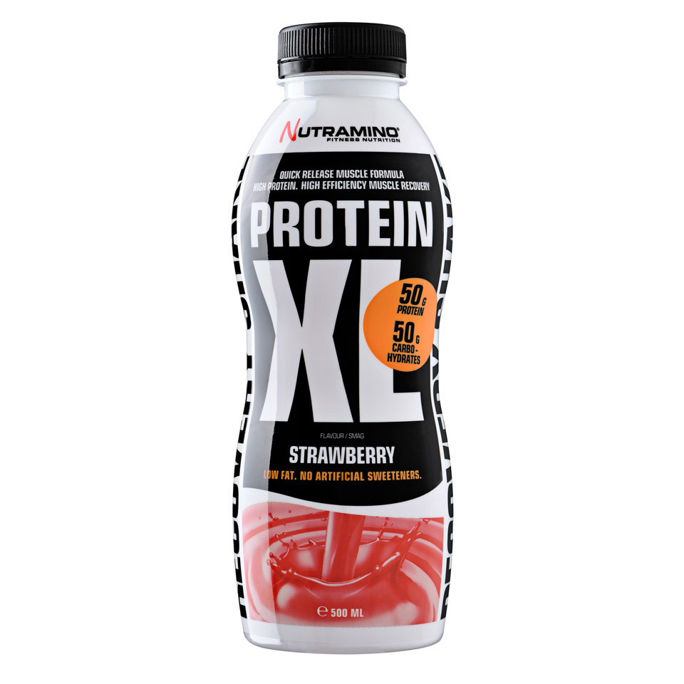Nutramino Protein XL Shake 500 ml Strawberry - Nutramino