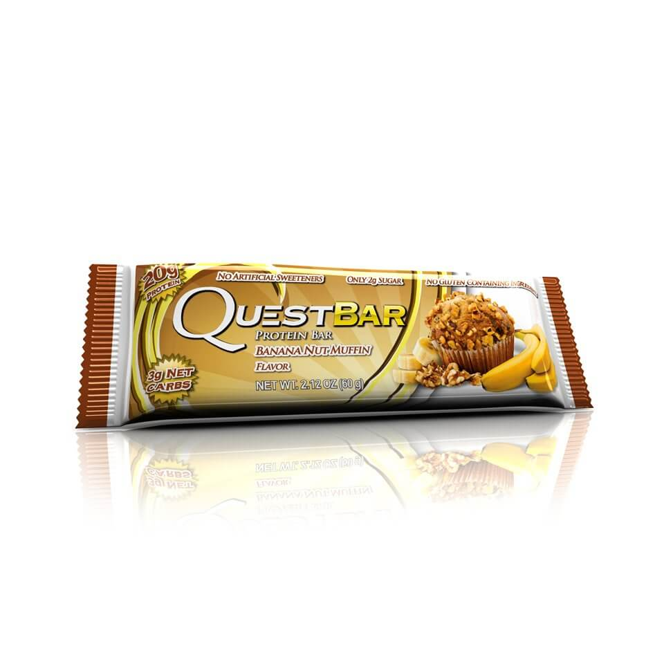 Quest Bars Banana Nut Muffin