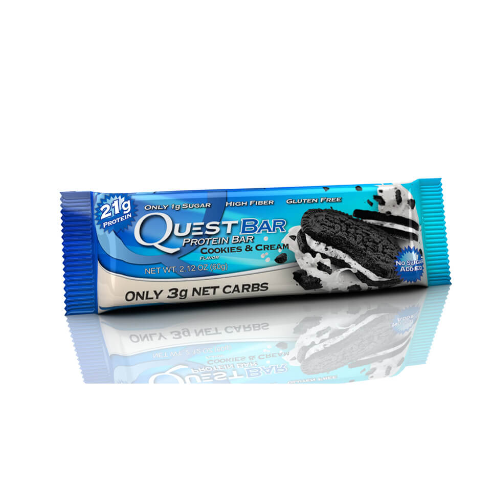 Quest Bars Cookies and Cream