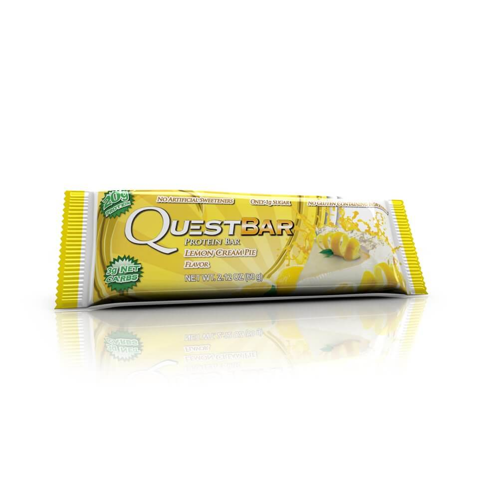 Quest Bars Lemon Cream Pie