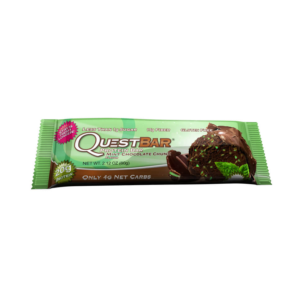 Quest Bars Mint Chocolate Chunk