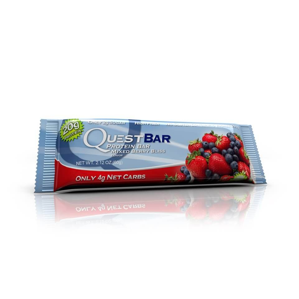 Quest Bars Mixed Berry Bliss