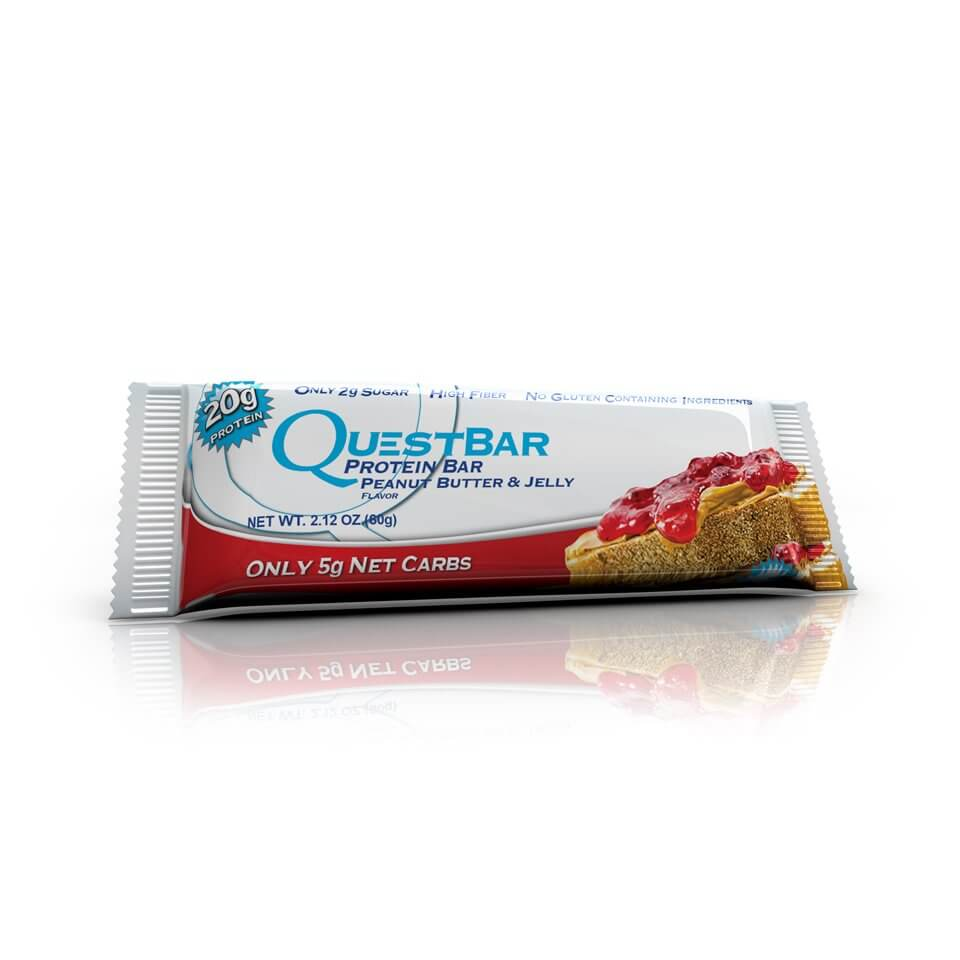 Quest Bars Peanut Butter Jelly