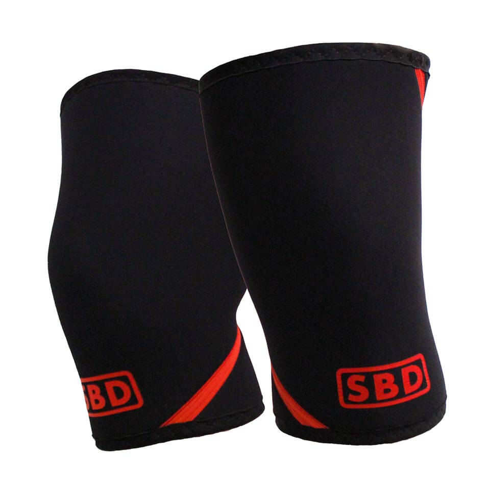 SBD Apparel SBD Knee Sleeves 4XL Black/Red - SBD Apparel