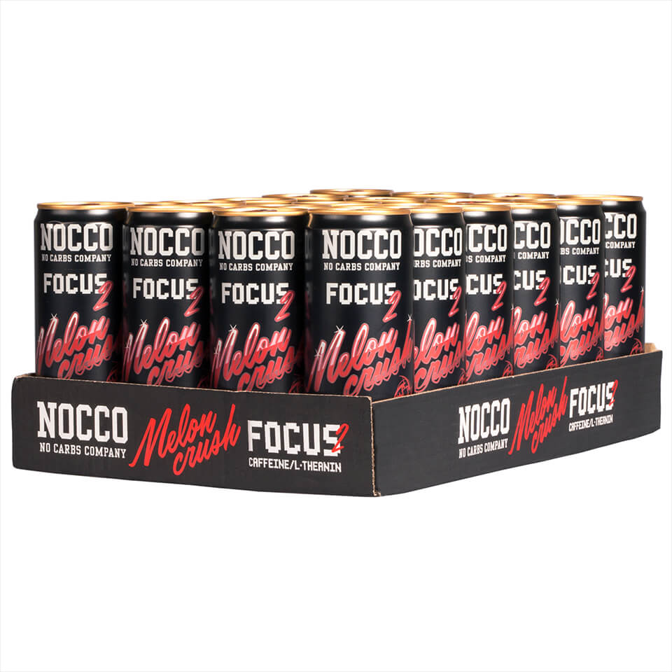 NOCCO Focus Flak 24-pack Melon Crush