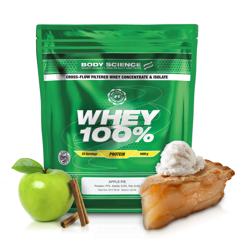 Body Science Whey 100% Apple Pie
