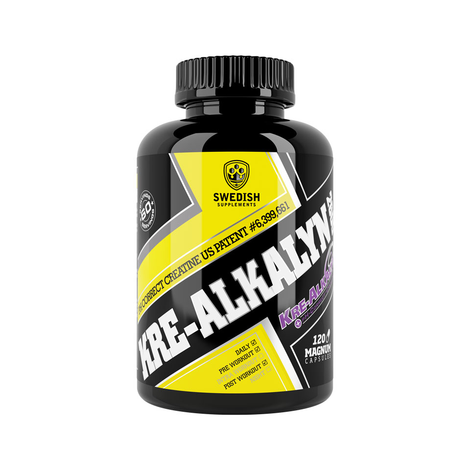 Swedish Supplements Kre-Alkalyn 2600 120 kapslar - Swedish Supplements