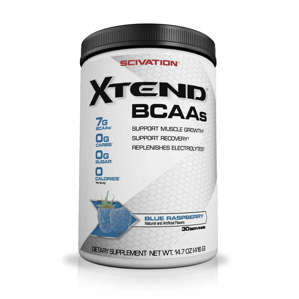 Scivation Xtend BCAA Blue Raspberry 30 portioner