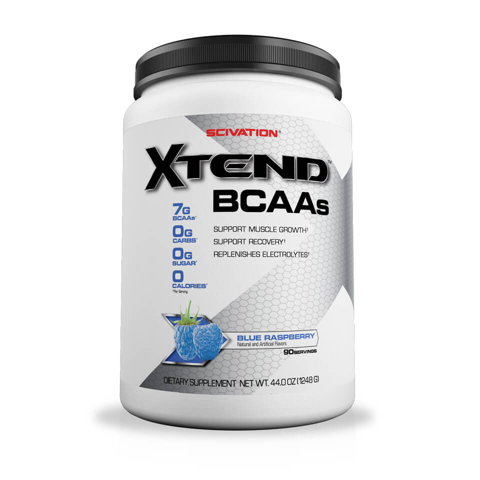 Scivation Xtend BCAA Blue Raspberry 90 portioner