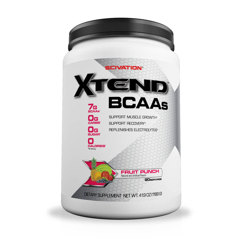 Scivation Xtend BCAA Fruit Punch 90 portioner