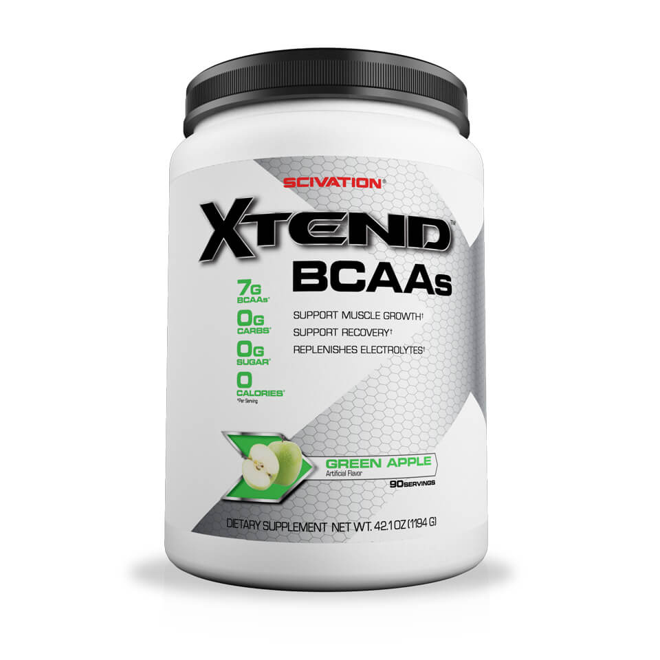 Scivation Xtend BCAA Green Apple 90 portioner